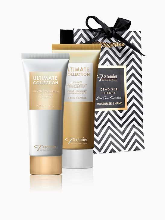 Classic Dead Sea Luxury Skin Care Collection - Moisturize & Hand B160