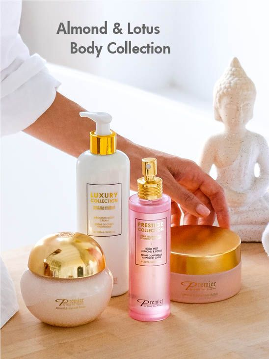 Aromatic Body Butter - Almond & Lotus A116