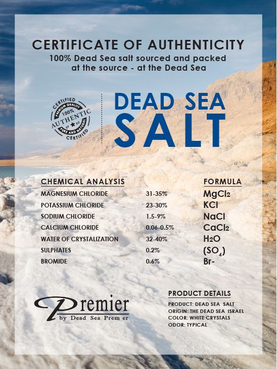 Dead Sea Aromatic Bath Crystals - Relaxing A066e