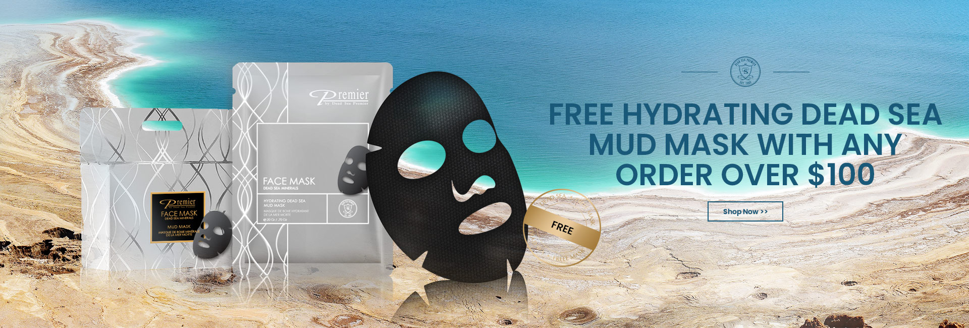Free Mask with every order over $100